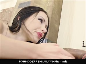 HER limit - tough anal and face fuck with Sasha Rose