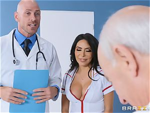 Lela star getting screwed in the doctors
