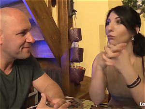 LA newbie - red-hot anal invasion bang with marvelous French fledgling