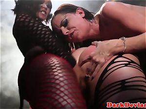 female domination 3 lesbos tough belt dick pulverize session