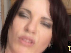 Dana boinks huge black cock in Her gaping fuckhole