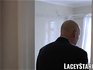 LACEYSTARR - Mature English honey porked and facialized