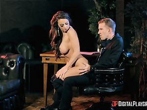 Abigail Mac takes on the monster stiffy of Danny D