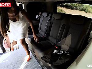 LETSDOEIT - ultra-kinky teenager boinks and fellates cab Driver
