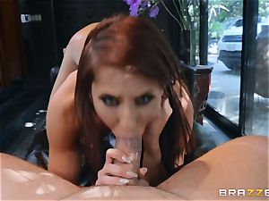 Madison Ivy gets her cootchie satiated by dangled Kieran