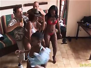 extreme horny african sex party