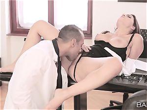 Valentina Nappi undresses off and porks her manager