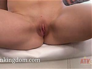 Pretty youthful stunner Mackenzie Lohan using fucktoys