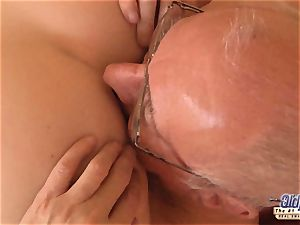 elder youthful porno grandfather luvs to plow young nymphs poon