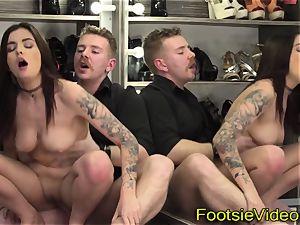 sweetheart slurps her toes