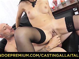 audition ALLA ITALIANA - messy newcummer buttfuck casting