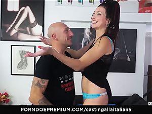 audition ALLA ITALIANA - novice buttfuck gape and ravage
