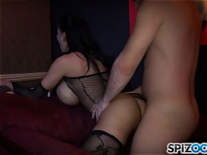 manstick hungry Amy Anderssen plumbed in ehr cock-squeezing poon