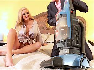 blondie housewife Summer plows wonderful salesman Lily