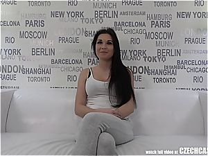 enticing big-boobed mother Nikola Plays with Agents beef whistle