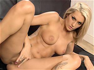 Natasha Marley loves taunting her jiggly humid vulva