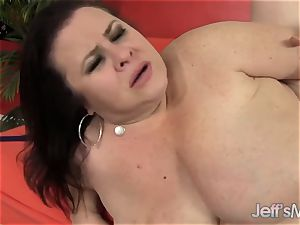 Mature plus-size giant hooters gonzo