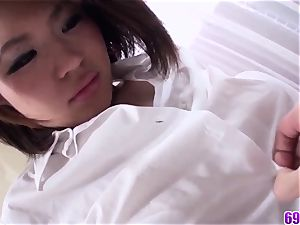 immense mounds Miki Uemura unbelievable bang-out in romantic vignettes