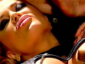 Shyla Stylez takes this hard shaft deep in her taut butt