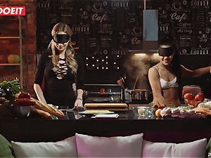 LETSDOEIT - lovemaking Cooking With honies Apolonia and Angel