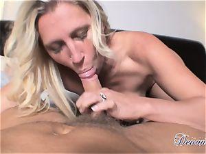 Devon Lee is liking her man's flog tucked in her saucy hatch