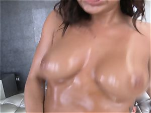 magnificent Keisha Grey ruts around on a firm fuckpole