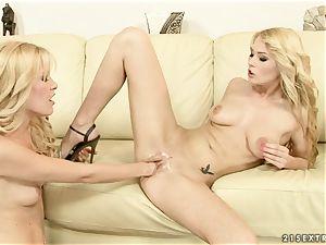 Sophie Moone lusty blondes fo stiff handballing