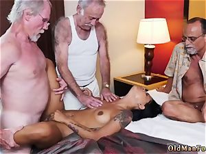 father nails colleague playfellow s sons lady and elder duo tempt youthfull Staycation with a