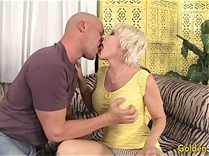 aged girl Dalny Marga takes youthful phat knob