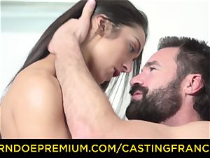 casting FRANCAIS - fledgling sweetie plowed and jizz coated