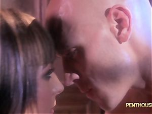 facialed honey Lily Paige is slipped a fantastic length