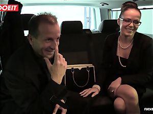 LETSDOEIT - Czech mummy Gets A massive beef whistle At Car Garage
