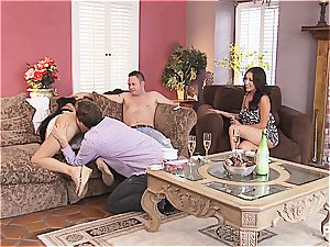 gang orgy and Hangman with uber-cute couples 1