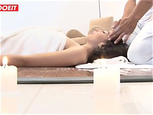 LETSDOEIT - horny brown-haired screwed firm at The SPA