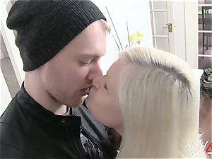 AgedLovE huge-boobed Lacey Starr xxx and oral pleasure