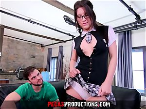 very first Time ass fucking for mischievous college girl - Pegas