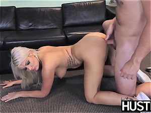 sugary nurse Layla Price bum plumbed before internal ejaculation