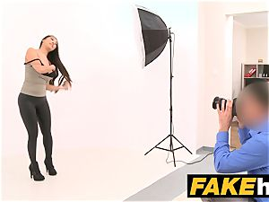 fake Agent fat funbags asian wants stiff smash