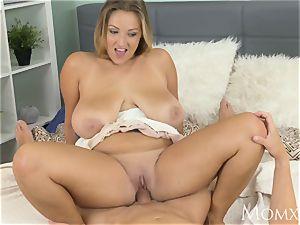 mom hooter jack heaven with round milf with congenital bra-stuffers