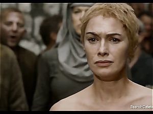 Lena Headey bares her bare body in Game of Thrones