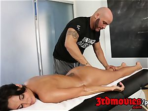 Ava Addams voluptuous massage