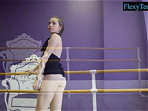 jaw-dropping fledgling ballerina