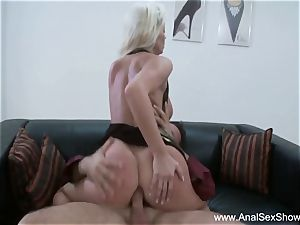 euro cougar Needs firm wood Up Her ass hole