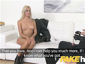 fake Agent european damsel likes giving breast jerk and blowage