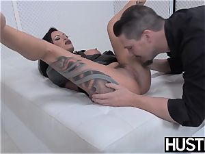 goth milf Lola sugary pussy pounded with beef whistle and fucktoys