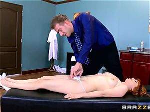 Patient Penny Pax porked by gigantic dicked medic