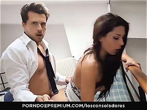 LOS CONSOLADORES Alexa Tomas swinger 4some