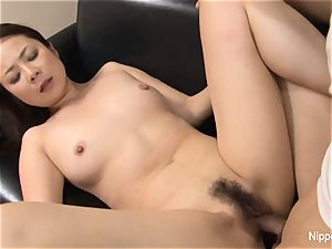 chinese milf plumbed firm while her buddy tapes it