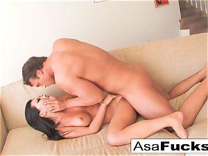 Asa gets a solid and stiff bang