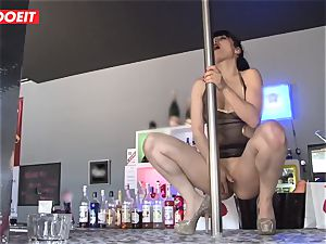 LETSDOEIT - French Stripper hoe group-fucked at Work